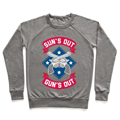 Sun's Out Gun's Out (Merica) Pullover
