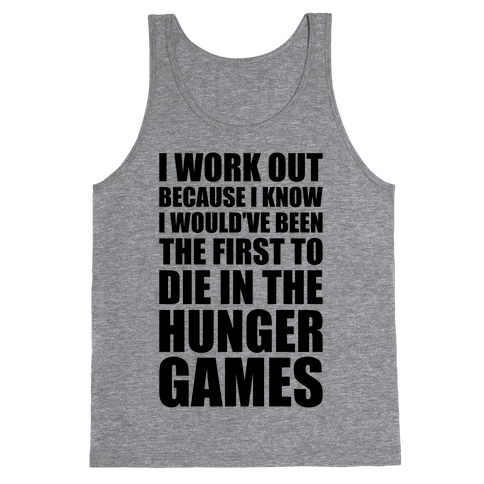 Hunger Games Workout Tank Top
