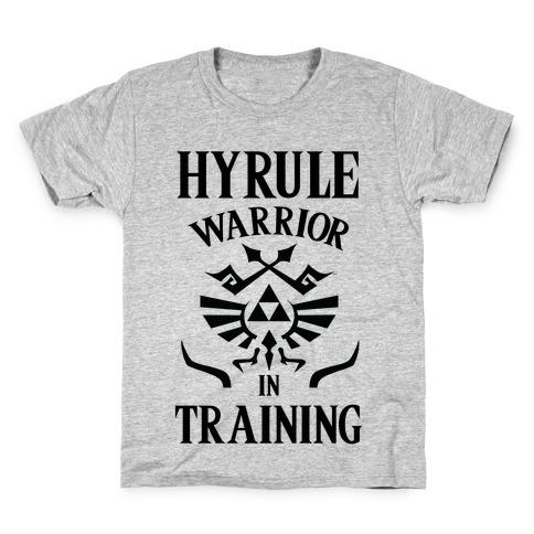 Hyrule Warrior In Training Kids T-Shirt