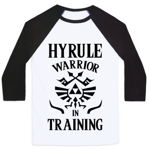 Hyrule Warrior In Training Baseball Tee