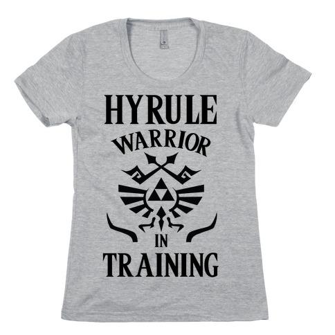Hyrule Warrior In Training Womens T-Shirt