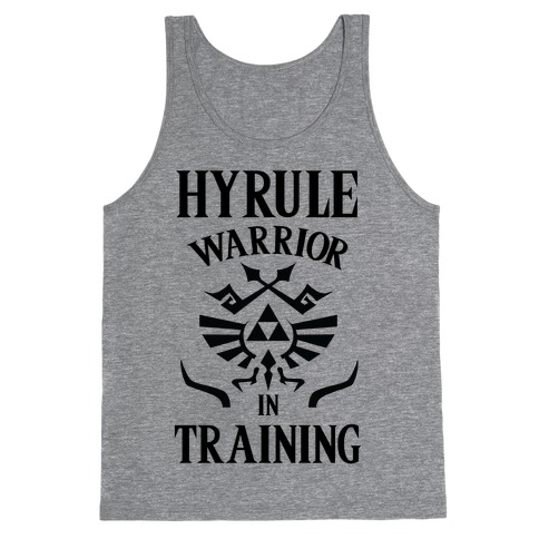 Hyrule Warrior In Training Tank Top