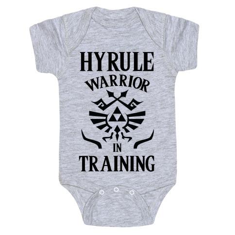 Hyrule Warrior In Training Baby Onesy