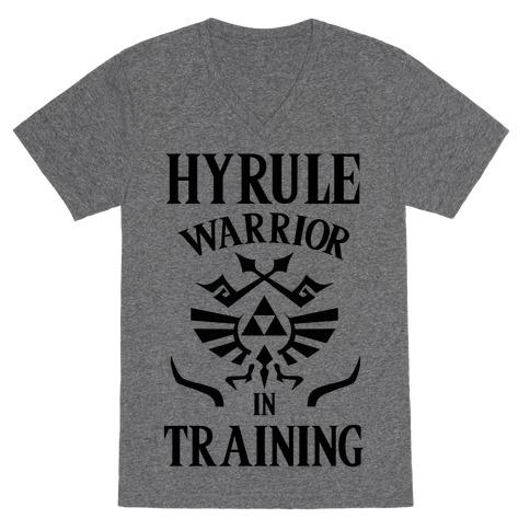 Hyrule Warrior In Training V-Neck Tee Shirt