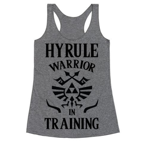Hyrule Warrior In Training Racerback Tank Top