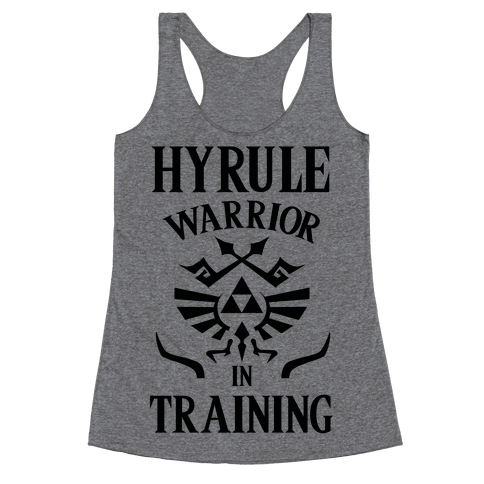 Hyrule Warrior In Training Racerback Tank Top