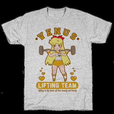 Venus Lifting Team Mens T-Shirt