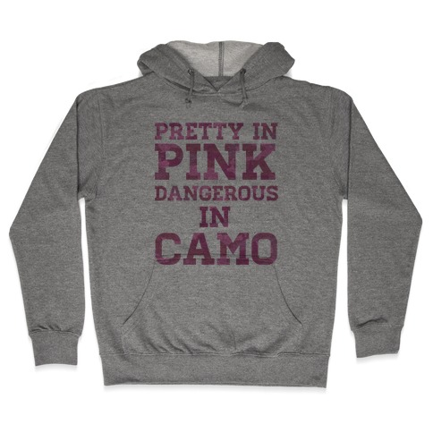 Dangerous in Camo Hooded Sweatshirt