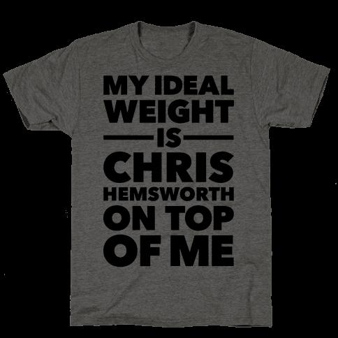 Ideal Weight (Chris Hemsworth)