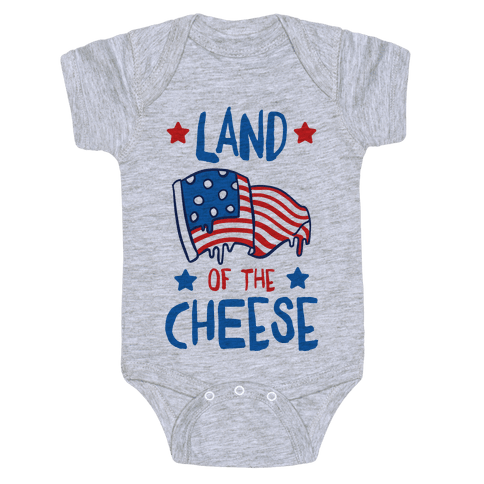 Land Of The Cheese Baby Onesy