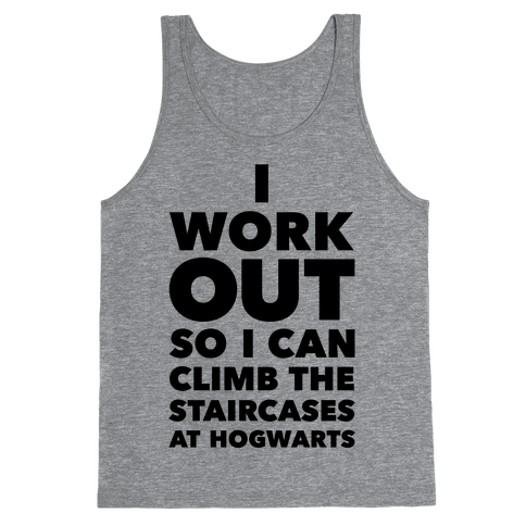 I Work Out Tank Top