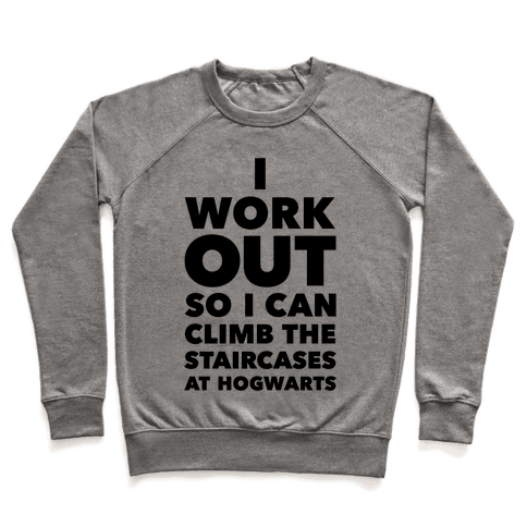 I Work Out Pullover