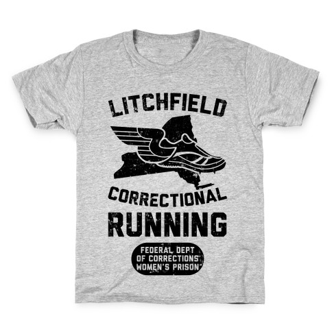 Litchfield Correctional Running Kids T-Shirt