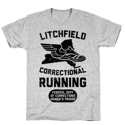 Litchfield Correctional Running T-Shirt