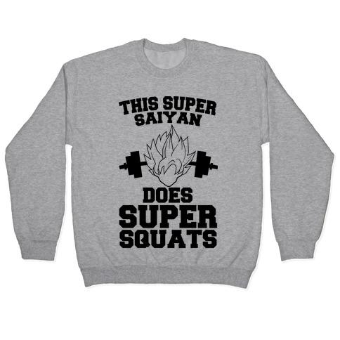 This Super Saiyan Does Super Squats Pullover