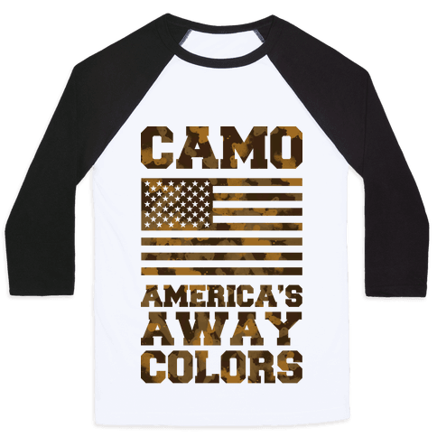 America's Away Colors Baseball Tee