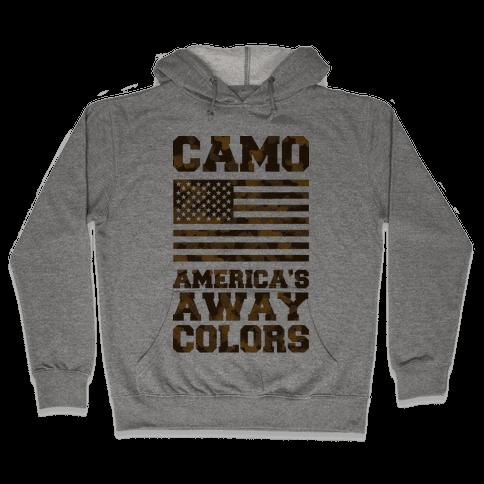 America's Away Colors Hooded Sweatshirt