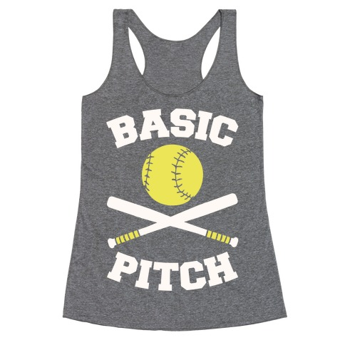 Basic Pitch Racerback Tank Top