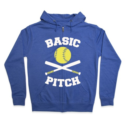 Basic Pitch Zip Hoodie