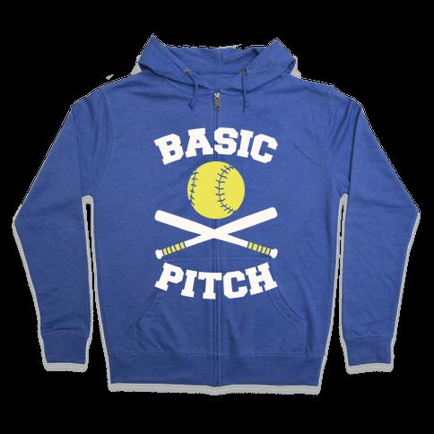 Basic Pitch Zip Hoodie