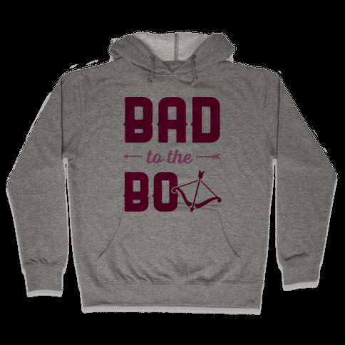 Bad To The Bow Hooded Sweatshirt