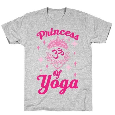 Princess Of Yoga Mens/Unisex T-Shirt