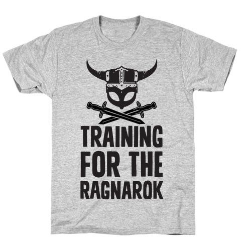 4c9e90ad8e1 Training For The Ragnarok T-Shirt