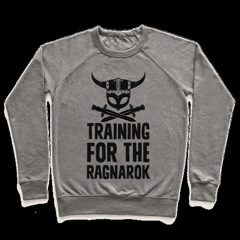 Training For The Ragnarok Pullover