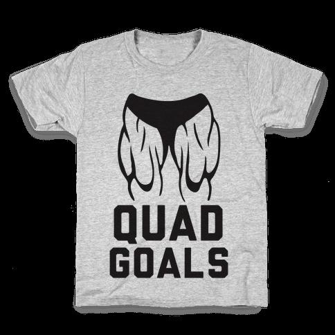 Quad Goals Kids T-Shirt