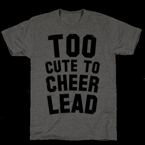Too Cute To Cheerlead