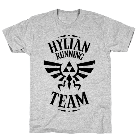 Hylian Running Team Mens T-Shirt