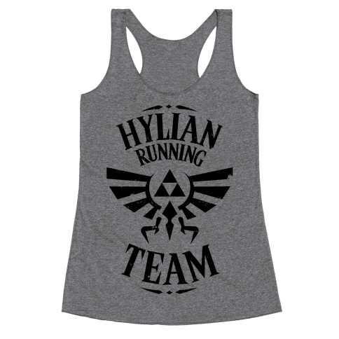 Hylian Running Team Racerback Tank Top