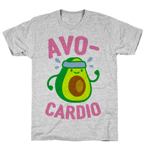 Avocardio Mens T-Shirt