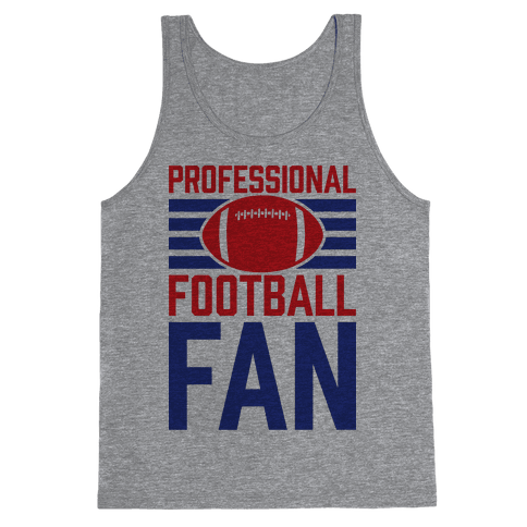 Professional Football Fan Tank Top