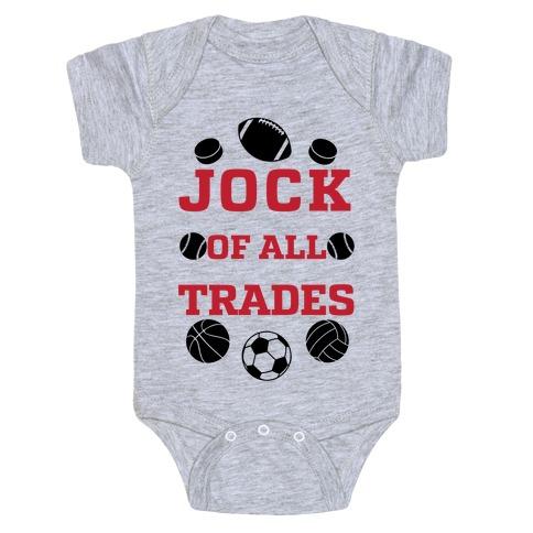 Jock Of all Trade Baby Onesy