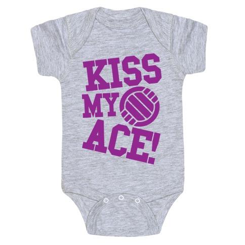 Kiss My Ace Baby Onesy