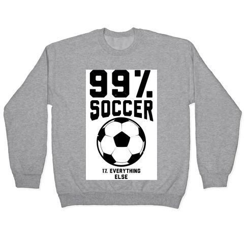 99 Percent Soccer Pullover