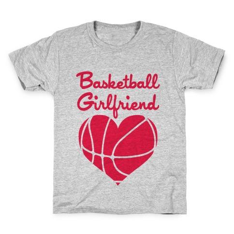 Basketball Girlfriend Kids T-Shirt