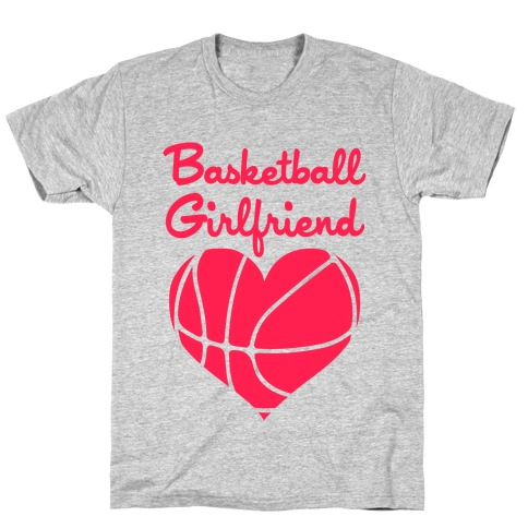 Basketball Girlfriend Mens T-Shirt