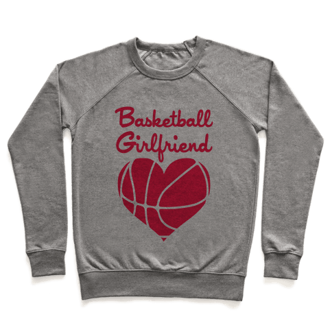 Basketball Girlfriend Pullover