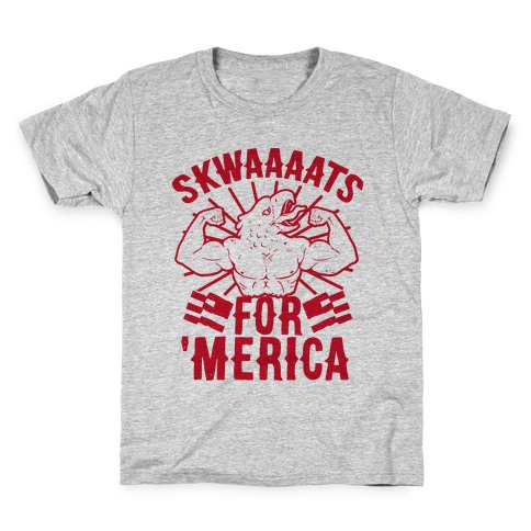 Skwaaaats For 'Merica Kids T-Shirt