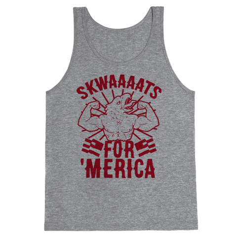 Skwaaaats For 'Merica Tank Top