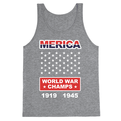 Merica World War Champs Tank Top