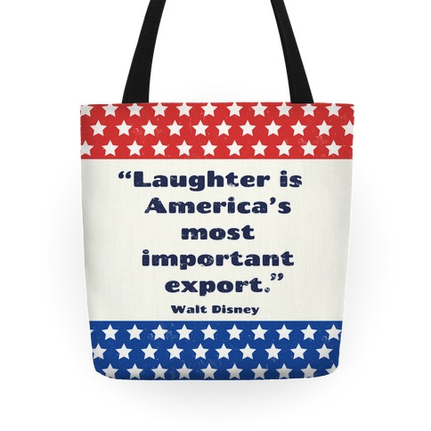America's Most Important Export Tote