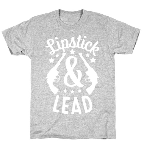 Lipstick & Lead Mens/Unisex T-Shirt