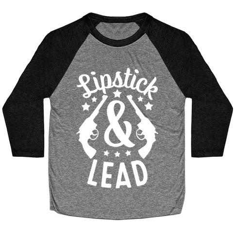 Lipstick & Lead Baseball Tee