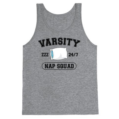 Varsity Nap Squad Tank Top
