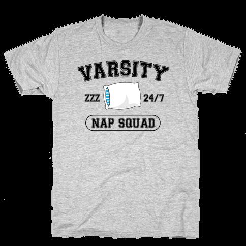 Varsity Nap Squad Mens T-Shirt