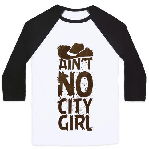 No City Girl Baseball Tee