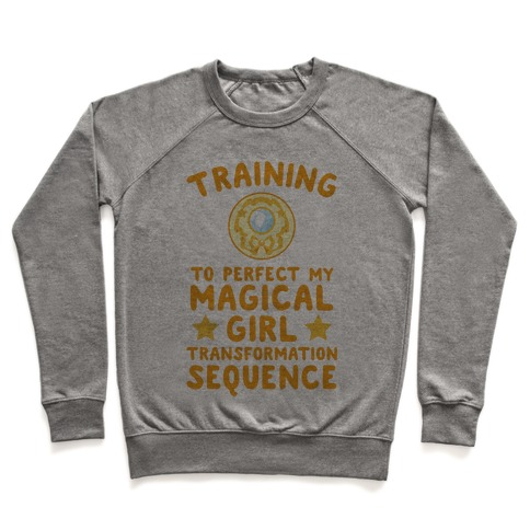 Training To Perfect My Magical Girl Transformation Pullover